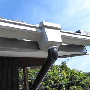 岐阜の塗装屋エスエスホームの雨樋交換