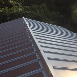 岐阜の塗装屋エスエスホームのガルバニウム板金