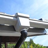 多治見の塗装屋エスエスホームの雨樋交換