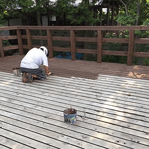 岐阜の塗装屋エスエスホームの木部塗装
