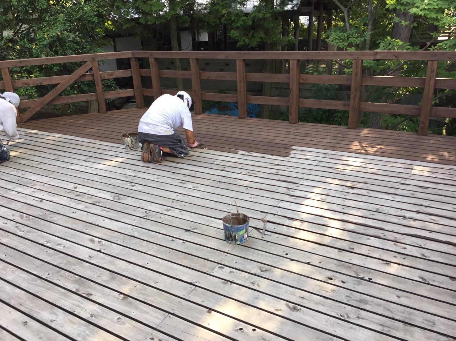 多治見、可児、土岐、瑞浪、岐阜愛知の塗装屋エスエスホームの木部塗装は適切に